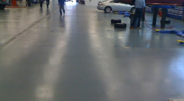 Sơn Epoxy cho sàn Garage